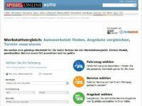 Werkstattportal Fairgarage jetzt über Spiegel-Online erreichbar