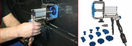 Smart- und Spot-Repair: Dellen mit Druckluft aus dem Blech ziehen
