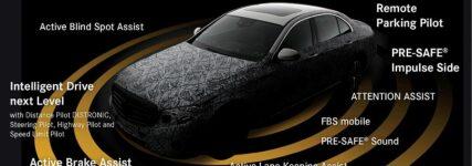 Autonomes Fahren: Neue E-Klasse mit Fahrerassistenzpaket