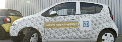 ZF: Konzeptfahrzeug 'Smart Urban Vehicle' zeigt Potential intelligenter Vernetzung