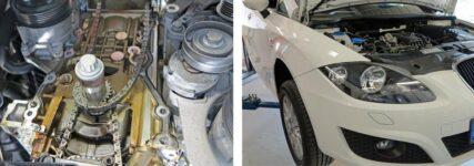 Austausch der Steuerkette bei VW-Motoren