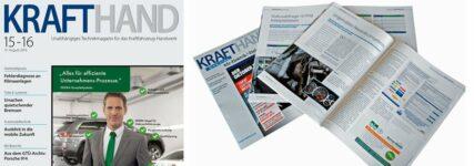 Neue Seiten: KRAFTHAND-Magazin präsentiert sich in neuer Optik