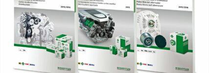 Drei neue INA-Kataloge von Schaeffler Automotive Aftermarket