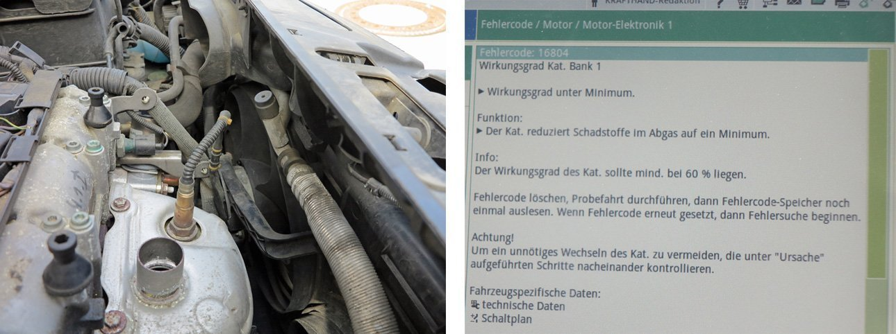 Blick ins KRAFTHAND-Magazin: Abgasnachbehandlung ohne Lambdasonde ...