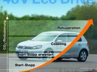 Continental: 48-V-Hybridstrategien noch effizienter
