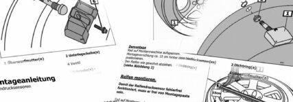 TecRMI mit Informationen zu Reifendrucksensoren