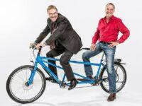Seit 25 Jahren am Steuer von Liqui Moly: Prost und Hiermaier