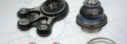 Traggelenksätze von Meyle für Pkw von Peugeot und Citroën
