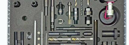 Werkzeugsatz von Pichler zum Entfernen festsitzender Common-Rail-Injektoren