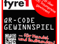 QR-Code-Gewinnspiel bei tyre1 geht weiter