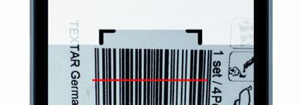 Textar Brakebook App mit intergriertem Barcode- und Bremsbelag-Scanner
