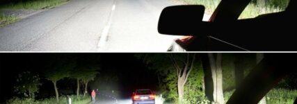Studie: Blendfreies Fernlicht verschafft im Ernstfall mehr Reaktionszeit