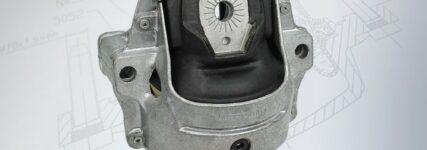 Meyle: Hydraulische Motorlager für Fahrzeuge von Audi