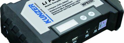 Kunzer: Energiestation für Batterien