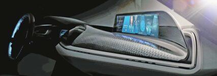 Gestensteuerung für den Fahrer im 'Vision Car'  von BMW