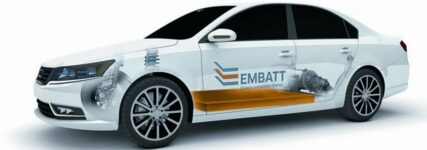 Ziel des Projekts EMBATT: HV-Batterie soll in Chassis