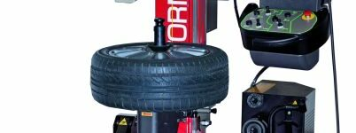 Kurzporträt: Die Reifenmontiermaschine Jet Tornado von Haweka