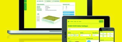 Mann-Filter: Überarbeiteter Online-Katalog verfügbar