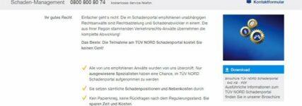 Unfallschadenabwicklung: Effizienter durch TÜV-Nord-Schadenportal
