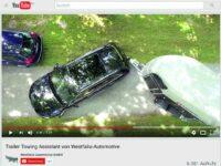 Westfalia/Audi: Anhängerassistenzsystem erleichtert Rangieren und Einparken
