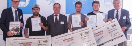 Kfz-Gewerbe Hessen: Nico Reinig bester Kfz-Mechatroniker 2016
