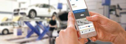 ZF Aftermarket: Ersatzteile via App in Echtzeit abrufen