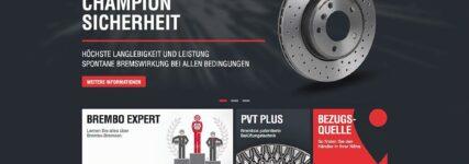 Brembo: Überarbeitete Produktwebseite ist jetzt online