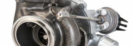 Volumenmarkttauglicher VTG-Turbolader für Ottomotoren
