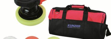 Kunzer: Exzenterpoliermaschine für professionelle Ergebnisse
