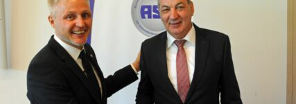 Vorstandswahlen: Harald Hahn erneut ASA-Vizepräsident