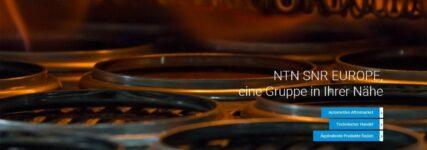 NTN SNR mit neuer Website