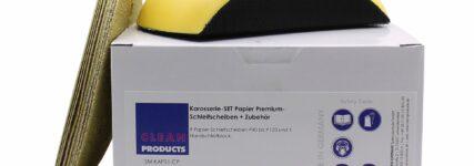 Cleanproducts ermöglicht optimale Schleifergebnisse