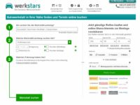 Werkstatttermine online: Werbas kooperiert mit werkstars.de