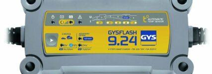 Gys: Bis zu 50 Prozent Zeitersparnis beim Batterieladevorgang