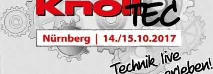 Fachmesse Knoll TEC am 14. und 15. Oktober in Nürnberg