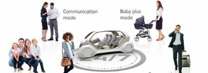 IAA: Neues Innenraumkonzept für autonomes Fahren von Adient