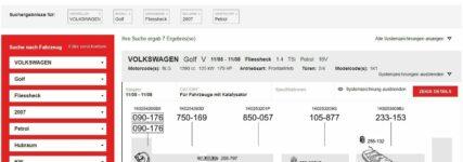 Bosal-Katalog für Abgasanlagen jetzt online und mobil
