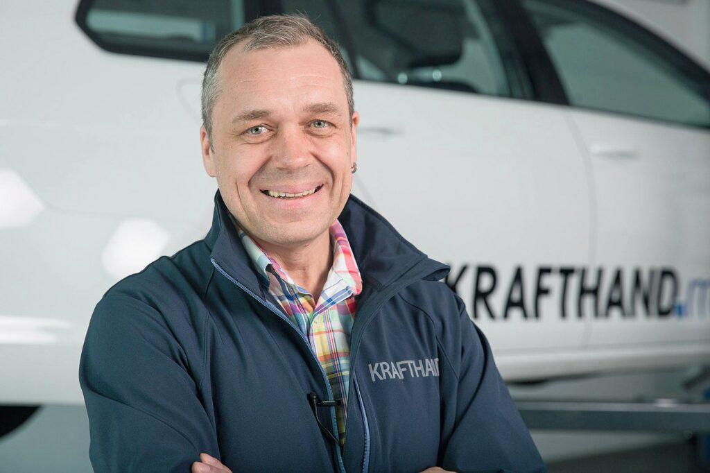 Torsten Schmidt, Chefredakteur der KRAFTHAND