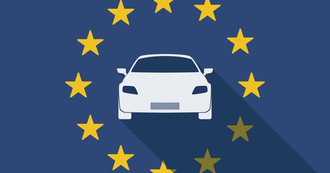 Flagge Kfz-Gewerbe Europa