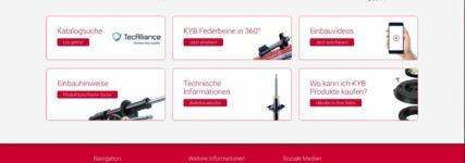 KYB: aktualisierte Internetpräsenz