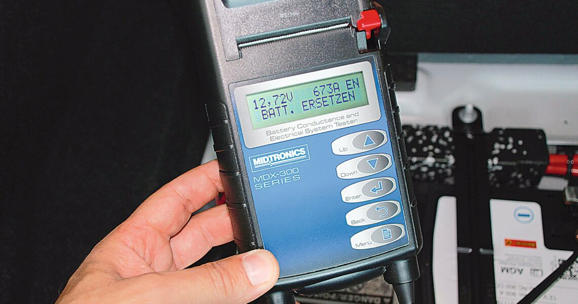 Batterietester, Midtronics