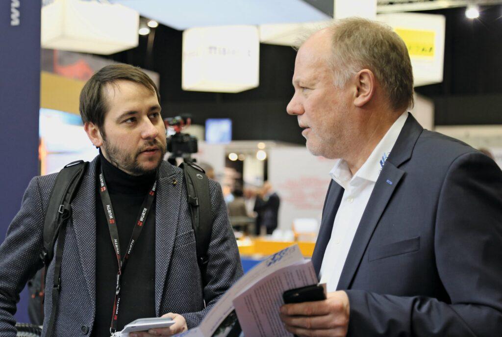 Florian Zink (links) und Thomas Voigt (rechts)