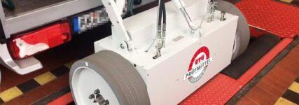 GTÜ:  Akkreditierung zur Kalibrierung von Rollen-Bremsprüfständen für Pkw