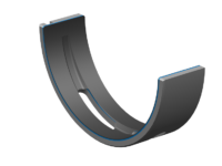 Neue Polymerlagergeneration für Hybridmotoren von Rheinmetall