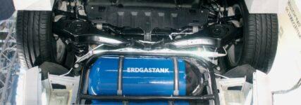 Der Erdgastank und die Mehrfachfunktionen des Tankventils