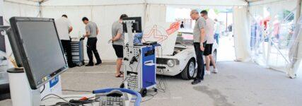 Letzter Check vor der Rallye