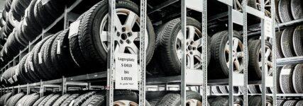 Aufbewahrung von Reifen im eigenen Lager