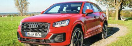 Frontansicht des Audi Q2