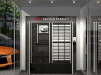 Servicestation für mehr Flexibilität