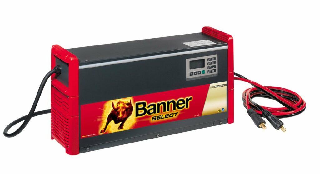 Ladegerät Batterie Banner